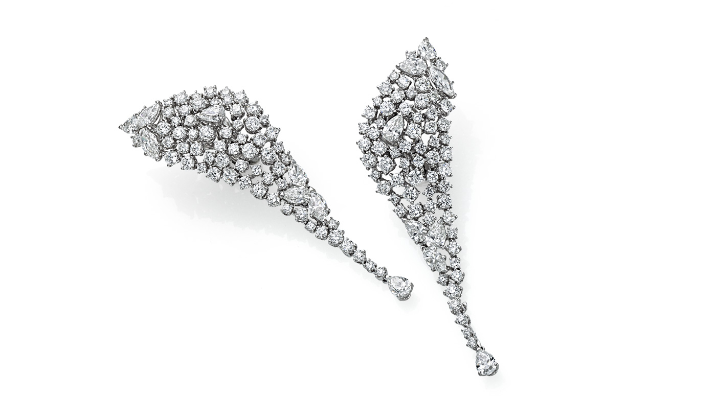 earrings diamonds