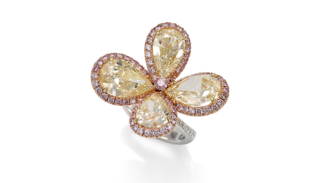 flower fancy ring