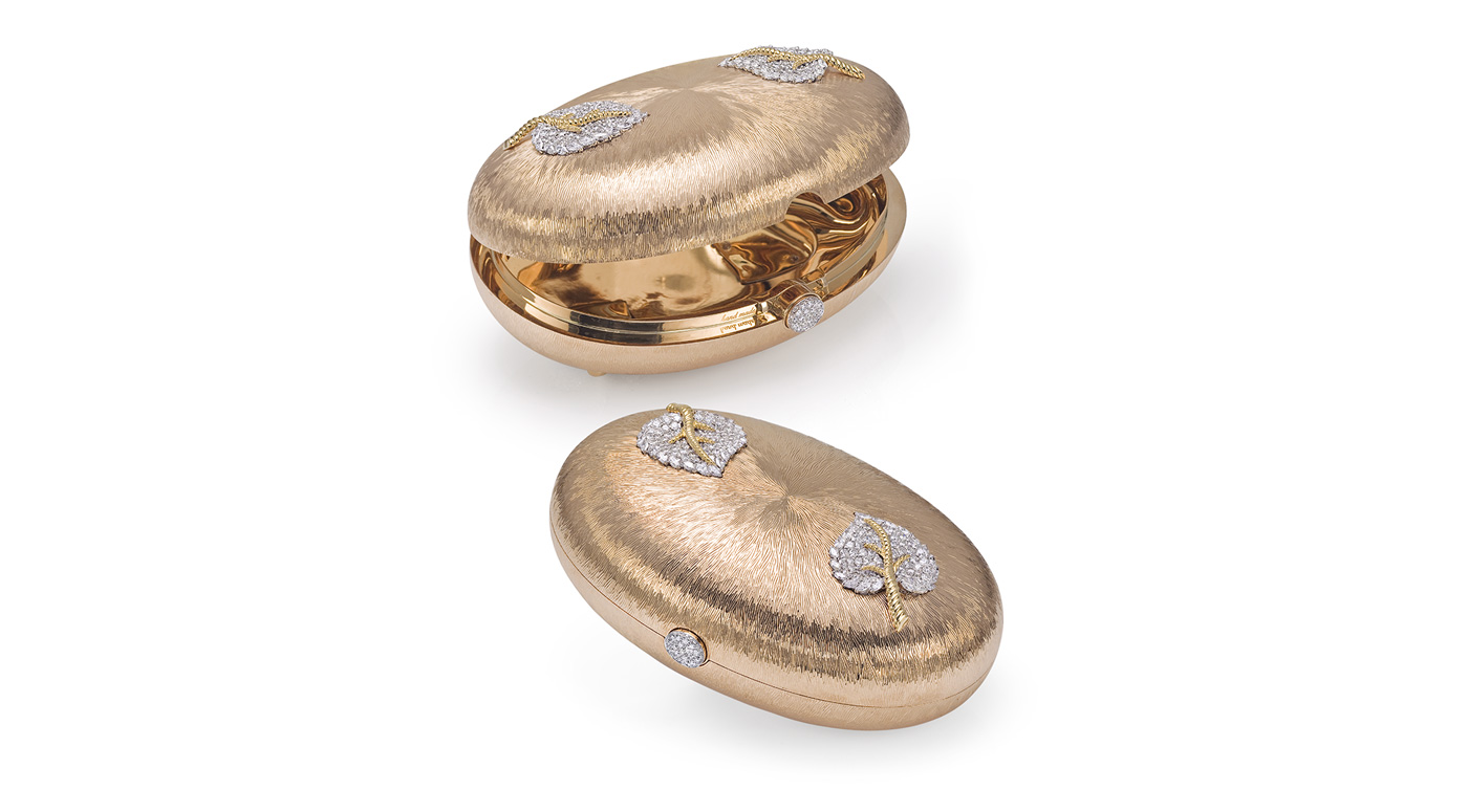gold diamonds bag