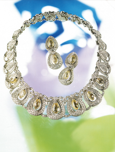 diamond parure