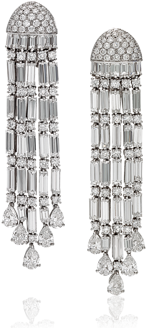 earrings diamonds